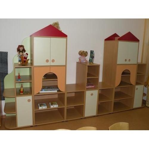 Стенка Дом - Мебель для детских садов